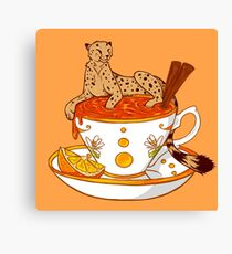 Orange and Cinnamon Tea Canvas Print