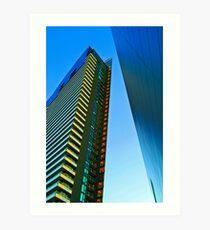 Sharp Architecture Art Print