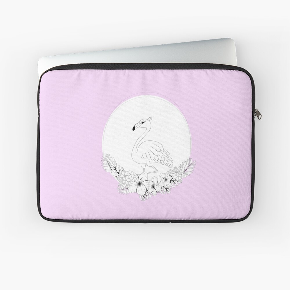 Just add Colour - Tropical Flamingo Laptop Sleeve