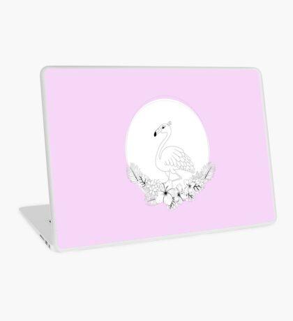 Just add Colour - Tropical Flamingo Laptop Skin