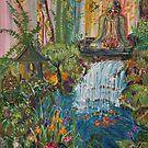 Zen Garden ,Northern Style 24 X36 Acrylic on canvas by eoconnor