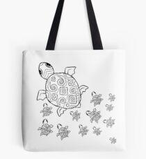 Just add Colour - Mumma Turtles Tote Bag