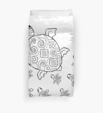 Just add Colour - Mumma Turtles Duvet Cover