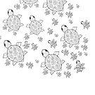 Just add Colour - Mumma Turtles by FunkiFish