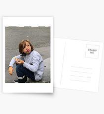Street Boy Montmartre Postcards