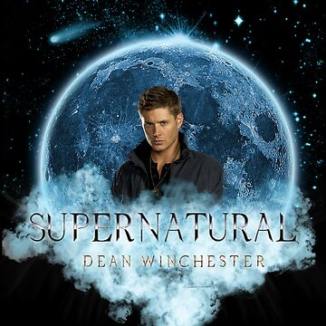 Supernatural Dean Winchester Blue Moon Dream Catcher by ratherkool