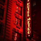 Red Metro by ElyseFradkin