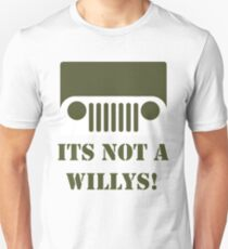 WW2 Ford GPW Jeep  Unisex T-Shirt