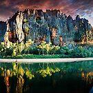 Windjana gorge by Colin White