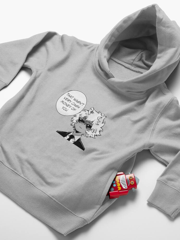 Alternate view of That Wasn't Very Cash Money Of You Toddler Pullover Hoodie