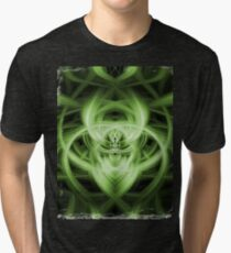 Abstract Digital Background Tri-blend T-Shirt