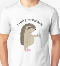 I Hate Mondays Hog T-Shirt