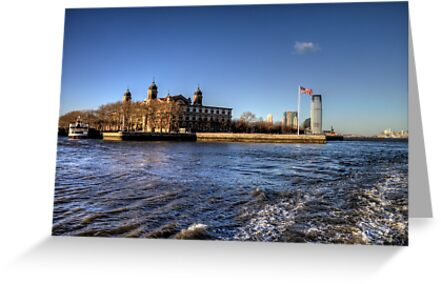 Escape from Ellis Island by Terence Russell