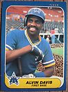 442 - Alvin Davis by Foob's Baseball Cards