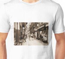 Centre Place Lunchtime Sepia Unisex T-Shirt