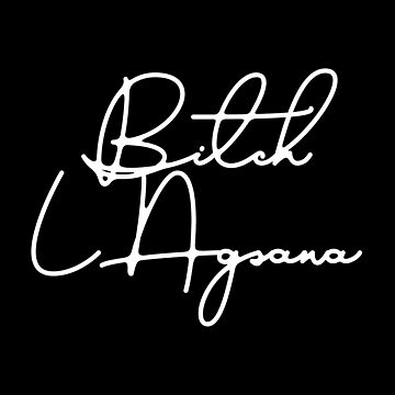 B*tch Lagsana Signature Merch (LIMITED EDITION) by IsaacPierpont