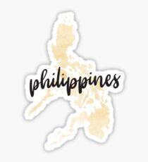Philippines Country Watercolour Sticker