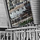 Reflections of the city by awefaul