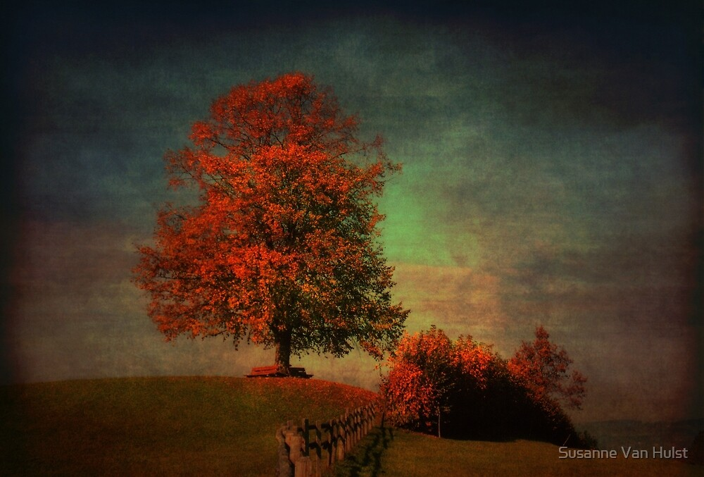 Majestic Linden Berry Tree by Susanne Van Hulst
