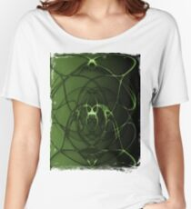 Abstract Digital Background Women's Relaxed Fit T-Shirt