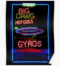 Neon Extravaganza Part Two : Big Dawg Poster