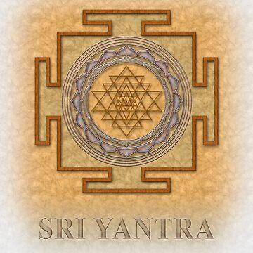 Sri Yantra2 by jenofuto