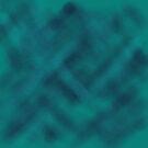 Blue Brushed Patch by Julia Woodman
