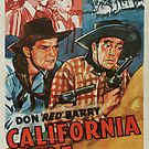 Vintage Hollywood Nostalgia California Joe Film Movie Advertisement Poster by jnniepce