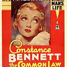 Vintage Hollywood Nostalgia The Common Law Film Movie Advertisement Poster by jnniepce