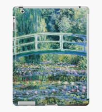 Water Lilies and Japanese Bridge, Claude Monet iPad Case/Skin