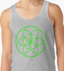 Motion Green Tank Top