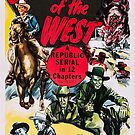 Vintage Hollywood Nostalgia Desperadoes of the West Film Movie Advertisement Poster by jnniepce