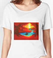 ...CIRCLE OF LIGHT... Women's Relaxed Fit T-Shirt