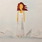 Tori Amos  Under The Pink Inspired Watercolor by Batorian