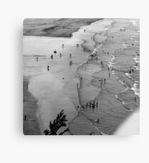 Figures in a Landscape Canvas Print
