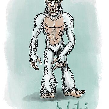 Yeti by Extreme-Fantasy