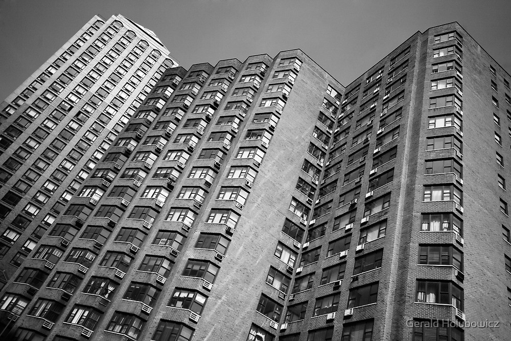 Black and White Living in New York by Gerald Holubowicz