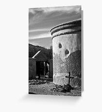 Tumacacori Mausoleum Greeting Card
