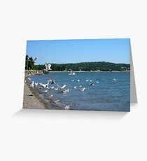 Parrsboro Beach  Greeting Card