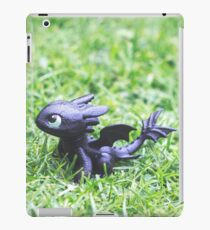 How to Train Your Dragon - Toothless Mini Figurine iPad Case/Skin