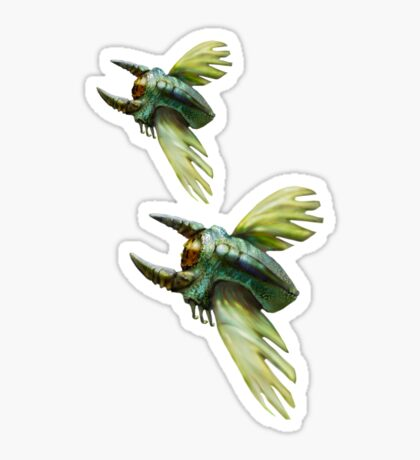Flying Bugs  Sticker