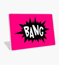 Cartoon Bang by Chillee Wilson Laptop Skin
