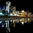 Gold Coast Skyline by Andrew Wilson