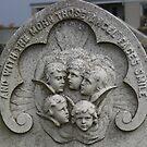 St Andrews Cathedral graveyard headstone by BronReid