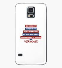 Tenets of Taekwondo Case/Skin for Samsung Galaxy