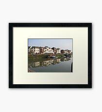 Ritson Wharf - Maryport Framed Print