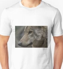 Rescued Timber Wolf 2 Unisex T-Shirt