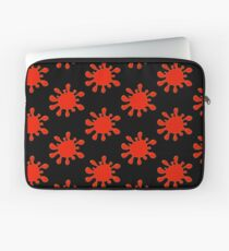 Blood Spatter by Chillee Wilson Laptop Sleeve