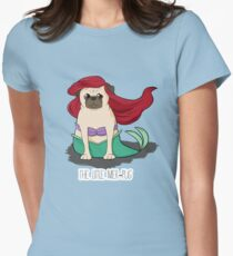 The Little Mer-Pug Women's Fitted T-Shirt