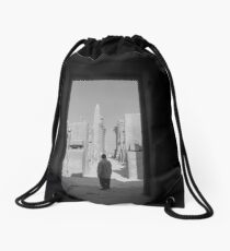 Stories of the ancient  Drawstring Bag
